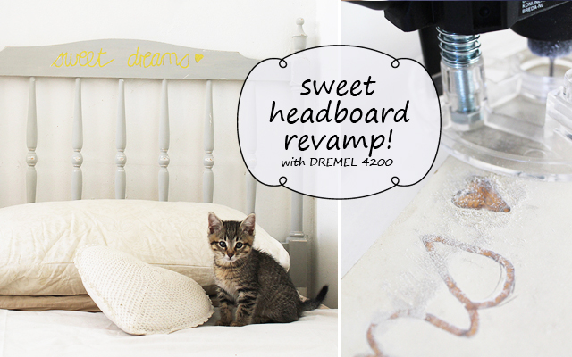 DIY with DREMEL: Headboard make-over