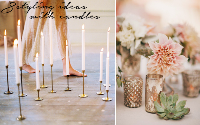 8 styling tips with candles