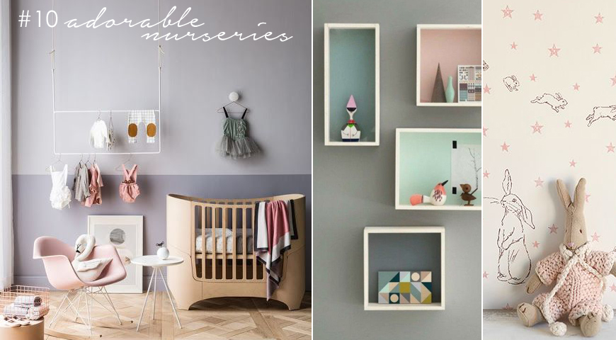 10 colourful nurseries for your baby