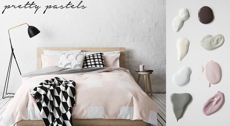 Pretty pastel decor for every room