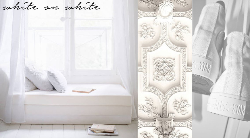 Home Decor in The Colour White