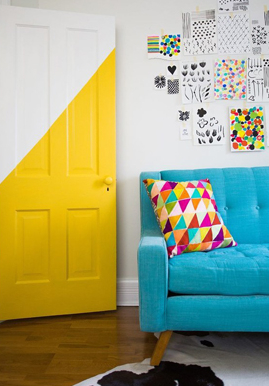 10 tips for using colour in a small room