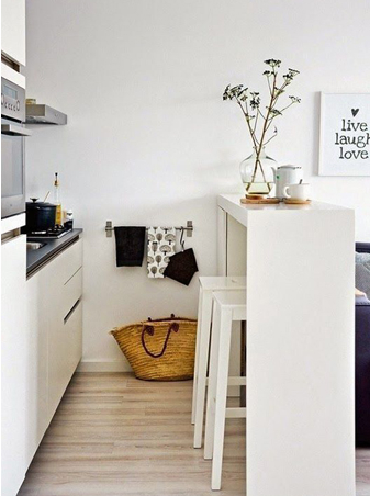 8 tips for decorating small rooms
