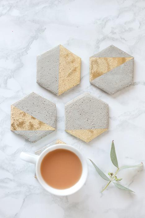 DIY Cement Coasters: Super Easy Tutorial