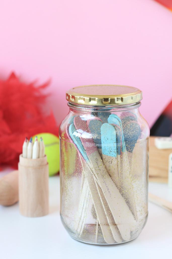 Winter Ideas Jar for Children