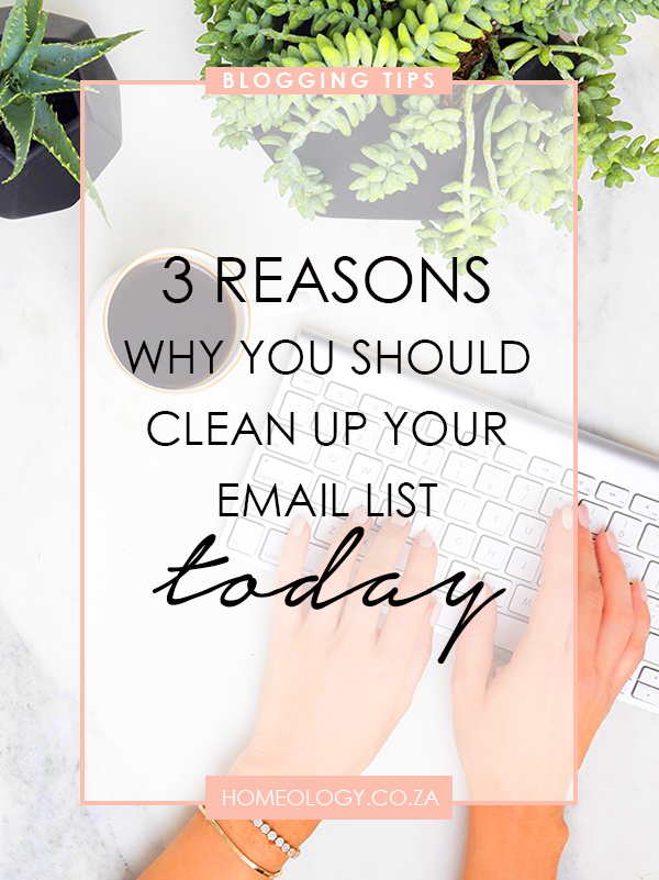 clean up your email list