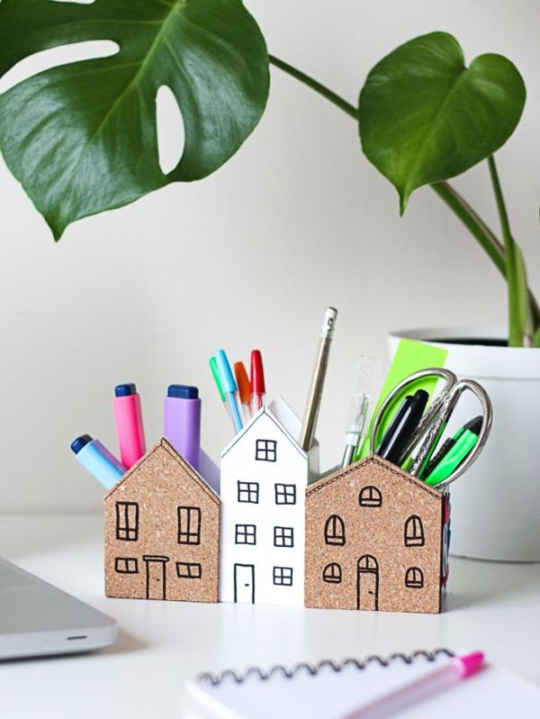 Desk Organiser: Practical Spring DIY