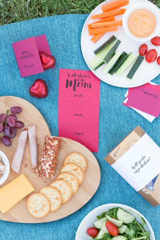 Simply print out these valentines date printables for your own DIY date at home