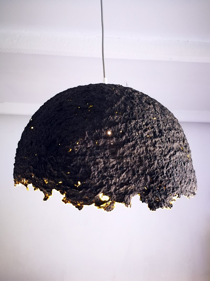 Make Your Own Designer Paper Mache Lampshade Homeology