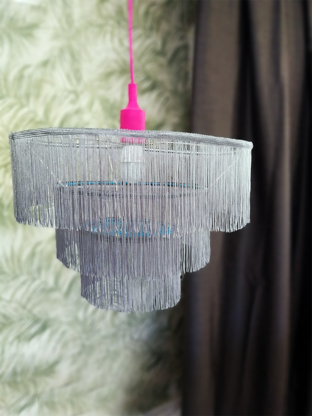 Swish around with a Contemporary Fringe Chandelier