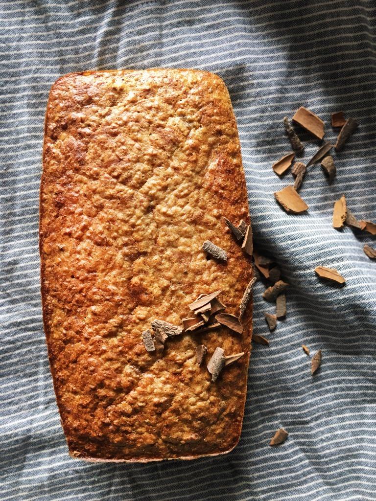 homemade healthy banana bread recipe gift idea