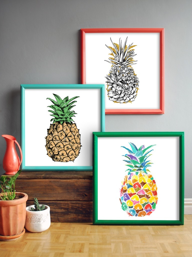 Rustoluem Spray paint Picture Frames decorating ideas