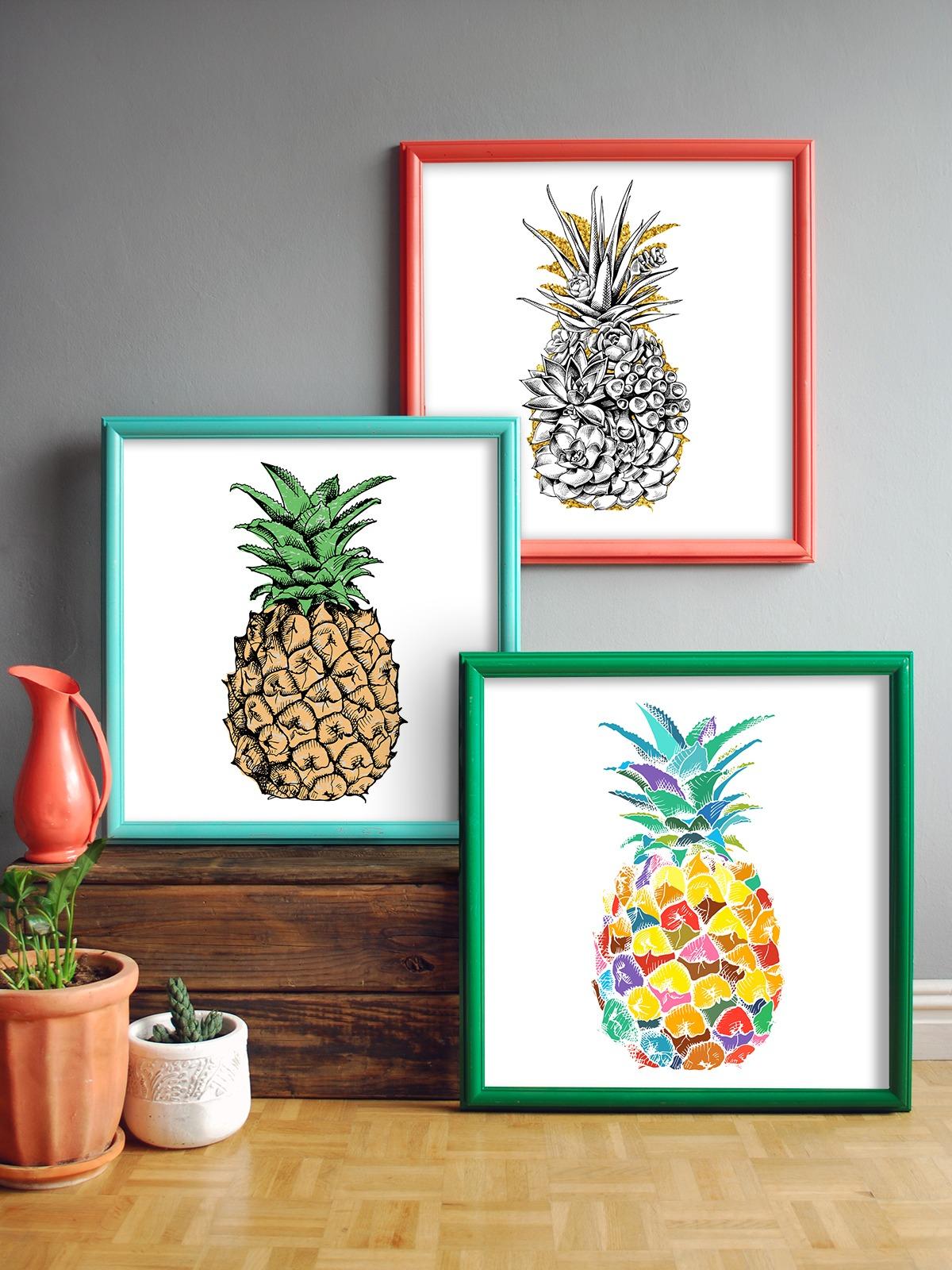 Rustoluem Spray paint Picture Frames decorating ideas