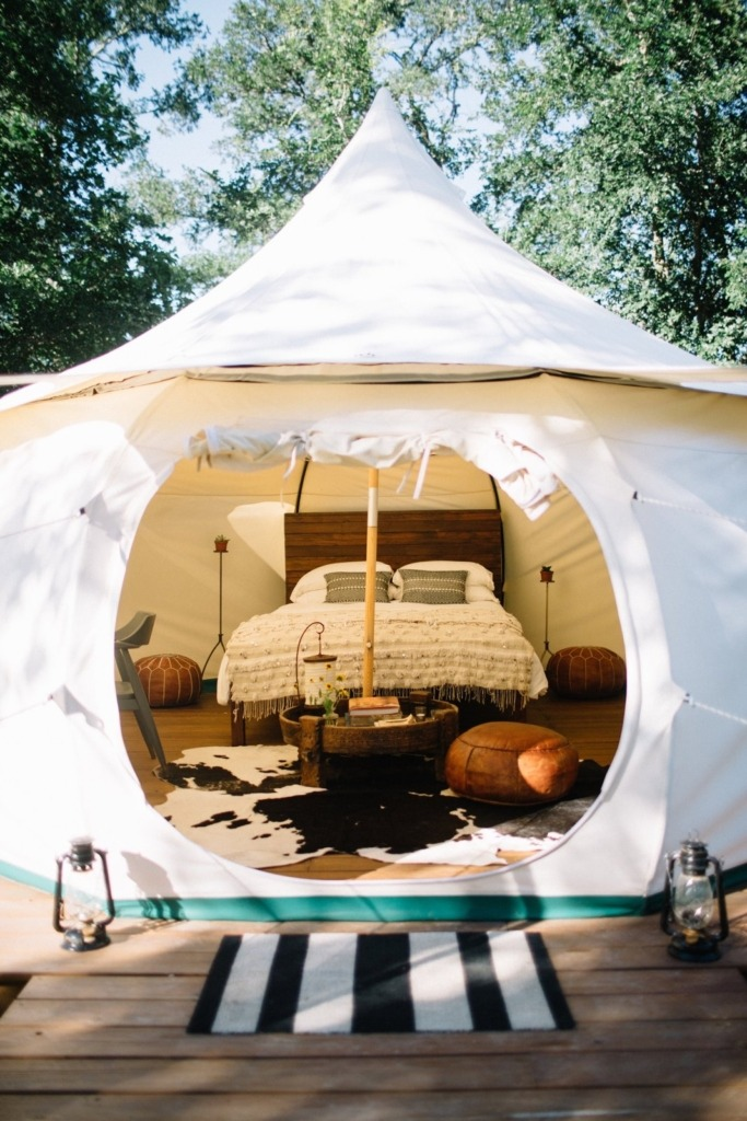 how to make a luxury tent