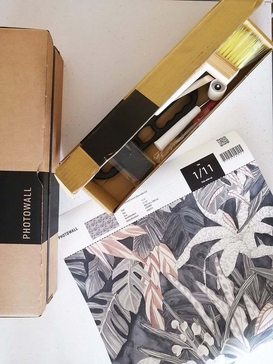 photowall wallpaper installation kit